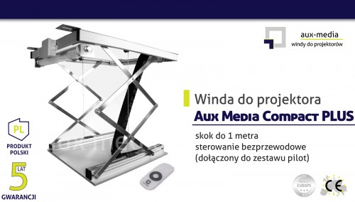 Winda do projektora Aux Media Compact PLUS