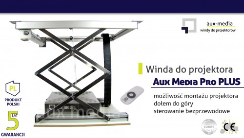 Winda do projektora Aux Media Pro PLUS
