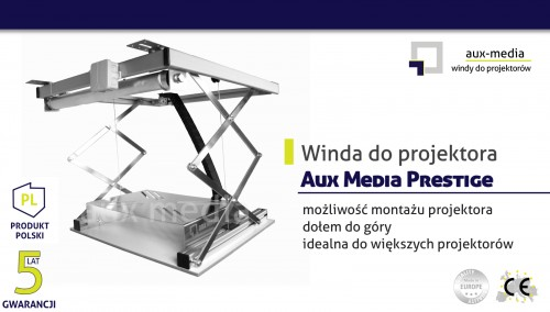 Winda do projektora Aux Media Prestige
